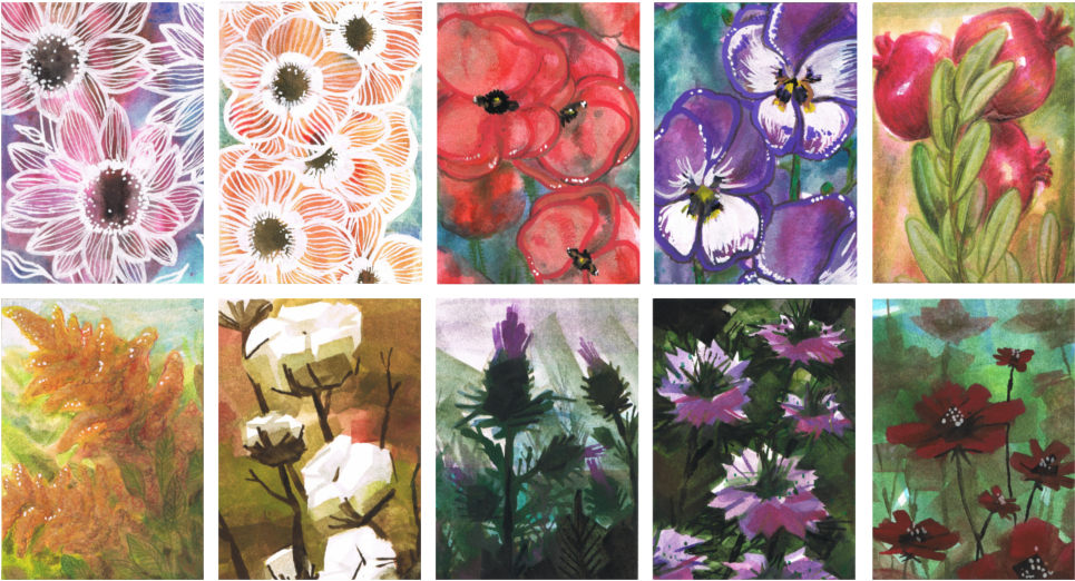 Kakao Challenge September Flowers